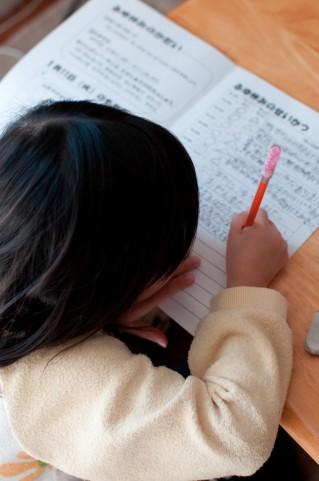 小学生の夏休みの作文 2、3行しか書いたことない子が800から1200文字の作文を書く方法